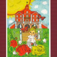 pohlednice Šípková Růženka