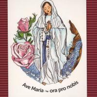 pohlednice Ave Maria